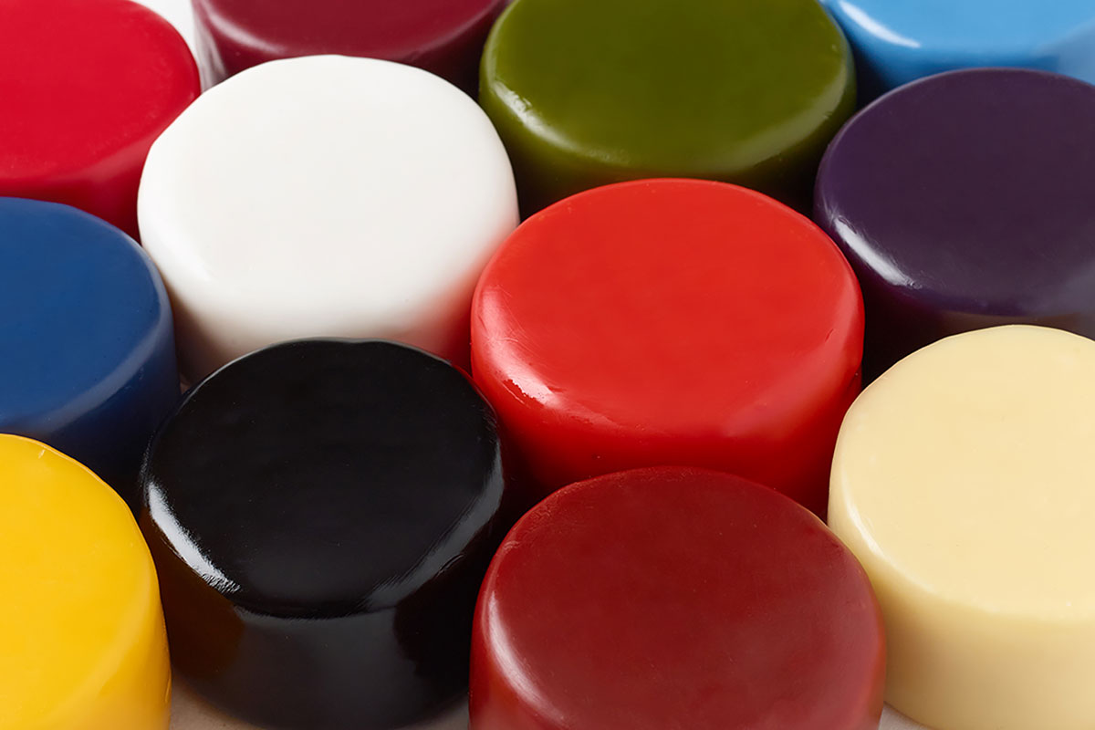 Procudan Procera cheese wax supplies in 12 different colours from Orchard Valley Dairy Supplies