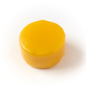 Yellow cheese wax from Orchard Valley Dairy Supplies