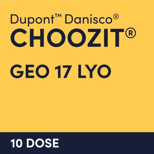 cultures choozit GEO 17 10 DOSE
