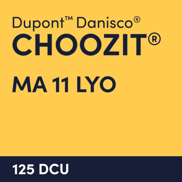 cultures choozit MA 11 LYO 125 DCU
