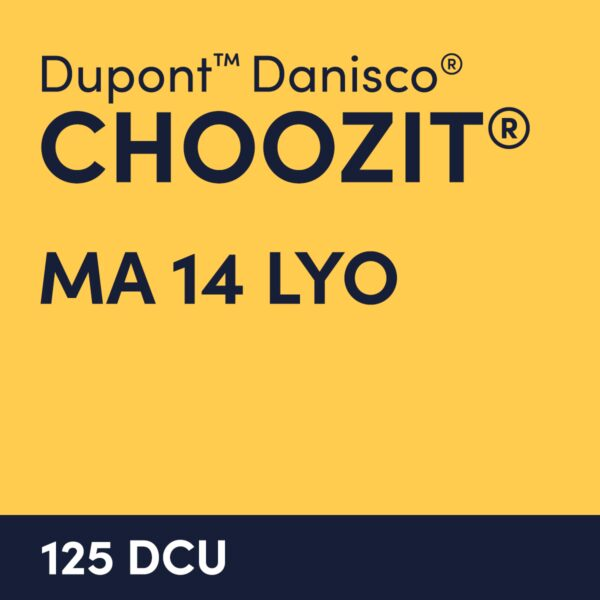 cultures choozit MA 14 LYO 125 DCU