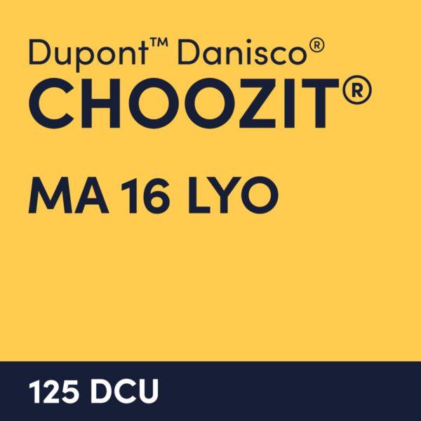 cultures choozit MA 16 LYO 125 DCU