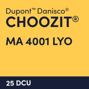 cultures choozit MA 4001 LYO 25 DCU