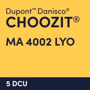 cultures choozit MA 4002 LYO 5 DCU
