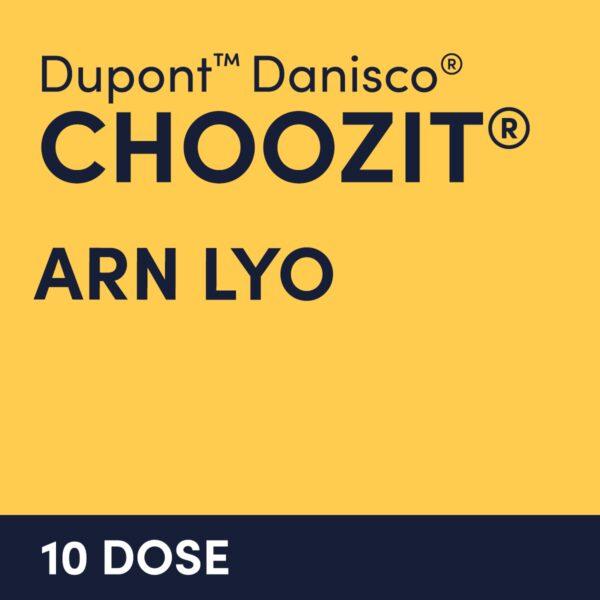 cultures choozit ARN LYO 10 DOSE