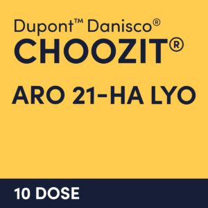 cultures choozit ARO 21 HA LYO 20 10 DOSE