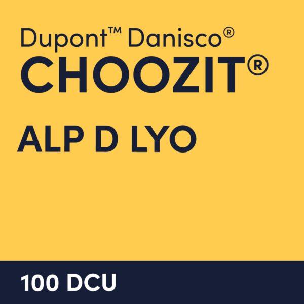 cultures choozit Alp D LYO 100 DCU