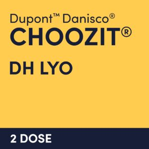 cultures choozit DH LYO 2 DOSE