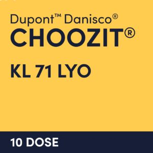 cultures choozit KL 71 LYO 10 DOSE