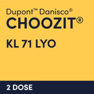 cultures choozit KL 71 LYO 2 DOSE