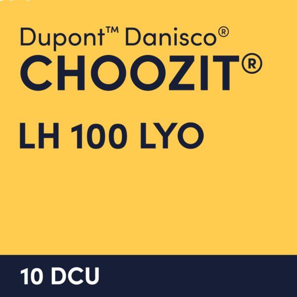 cultures choozit LH 100 LYO 10 DCU