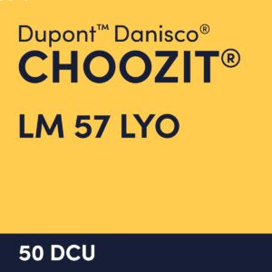 cultures choozit LM 57 LYO 50 DCU