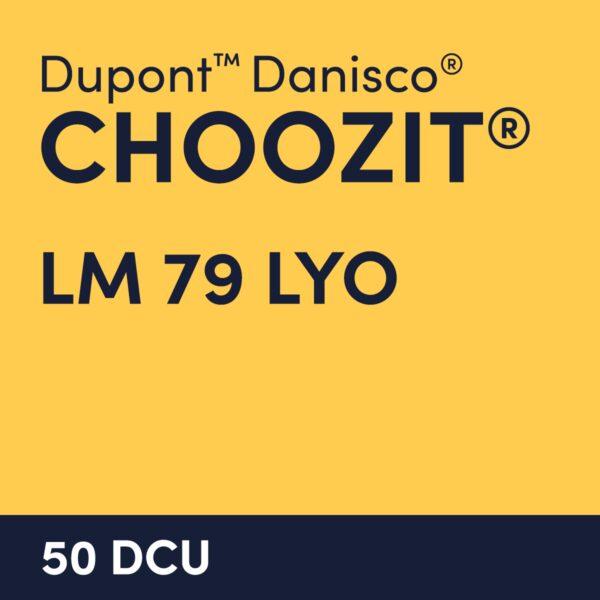 cultures choozit LM 79 LYO 50 DCU
