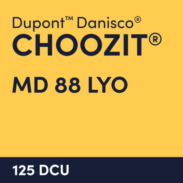 cultures choozit MD 88 LYO 125 DCU