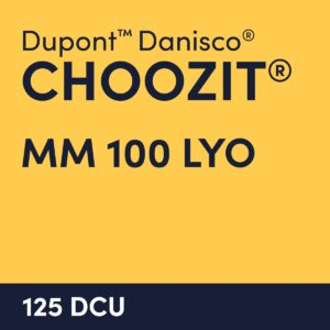 cultures choozit MM 100 LYO 125 DCU