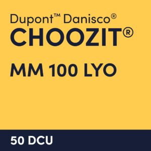 cultures choozit MM 100 LYO 50 DCU