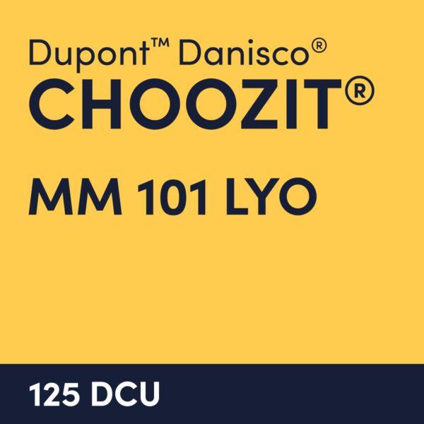 cultures choozit MM 101 LYO 125 DCU
