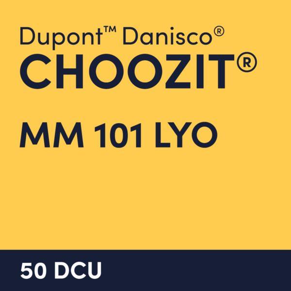 cultures choozit MM 101 LYO 50 DCU