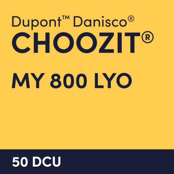 cultures choozit MY 800 LYO 50 DCU