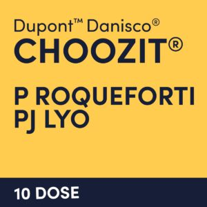 cultures choozit P Roqueforti PJ LYO 10 DOSE
