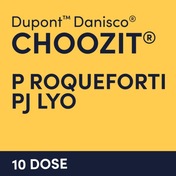 cultures choozit P Roqueforti PJ LYO 10 DOSE