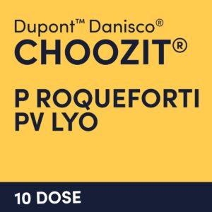 cultures choozit P Roqueforti PV LYO 10 dose