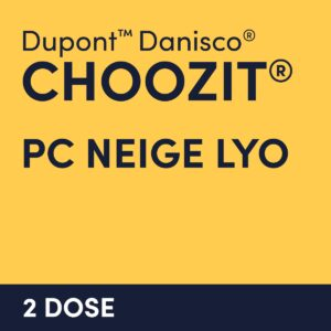 cultures choozit PC NEIGE LYO 2 DOSE