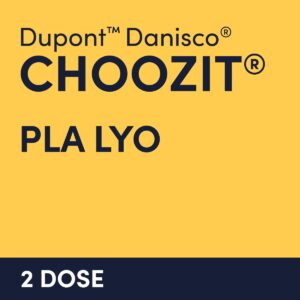 cultures choozit PLA LYO 2 DOSE
