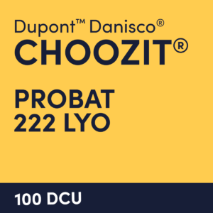 cultures choozit Probat 222 LYO