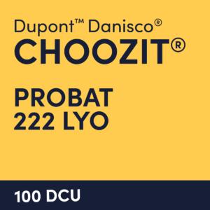 cultures choozit Probat 222 LYO