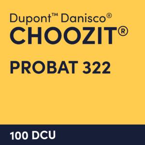cultures choozit Probat 322 100 DCU