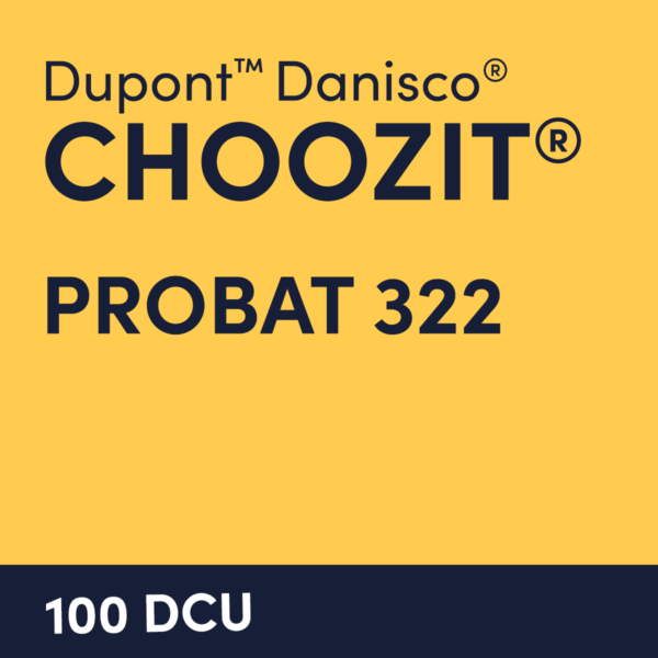 cultures choozit Probat 322 100 DCU