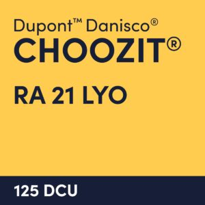 cultures choozit RA 21 LYO 125 DCU