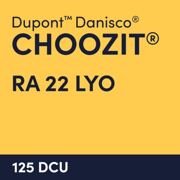 cultures choozit RA 22 LYO 125 DCU