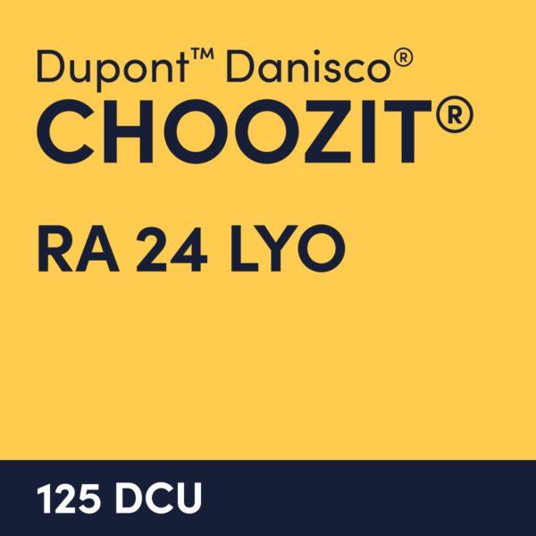 cultures choozit RA 24 LYO 125 DCU