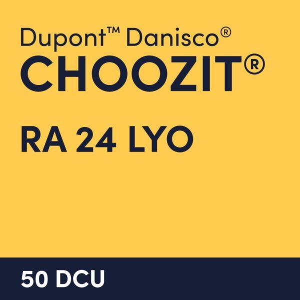 cultures choozit RA 24 LYO 50 DCU