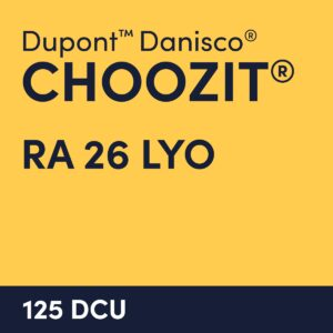 cultures choozit RA 26 LYO 125 DCU