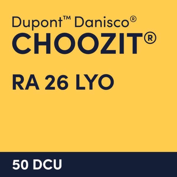 cultures choozit RA 26 LYO 50 DCU