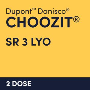 cultures choozit SR 3 LYO 2 DOSE