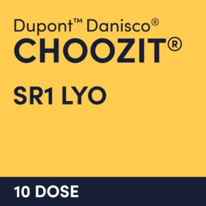 cultures choozit SR1 LYO 10 DOSE