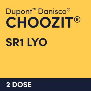 cultures choozit SR1 LYO 2 DOSE