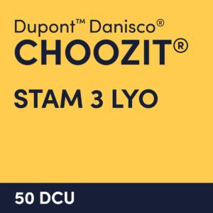 cultures choozit STAM 3 LYO 50 DCU