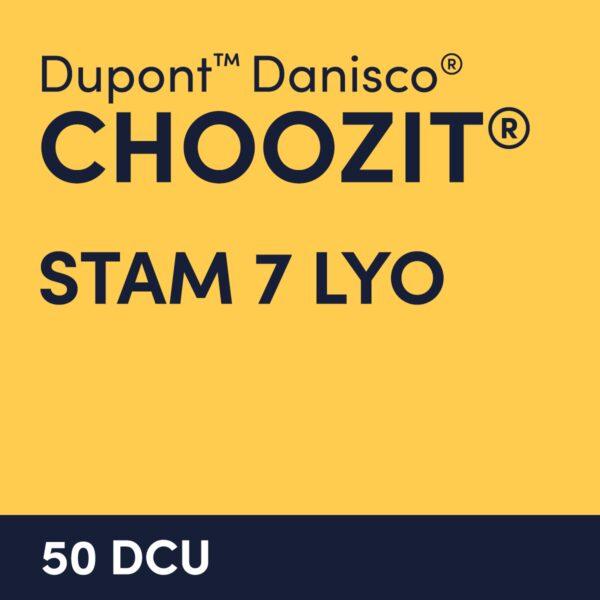 cultures choozit STAM 7 LYO 50 DCU