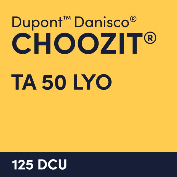 cultures choozit TA 50 LYO 125 DCU