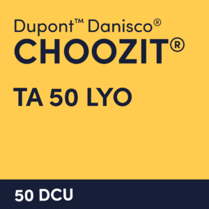 cultures choozit TA 50 LYO 50 DCU