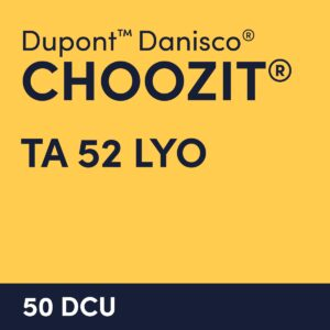 cultures choozit TA 52 LYO 50 DCU