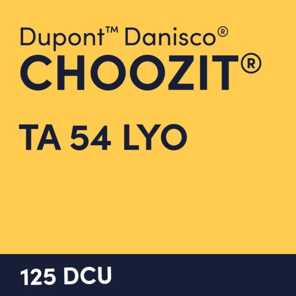 cultures choozit TA 54 LYO 125 DCU