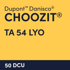 cultures choozit TA 54 LYO 50 DCU