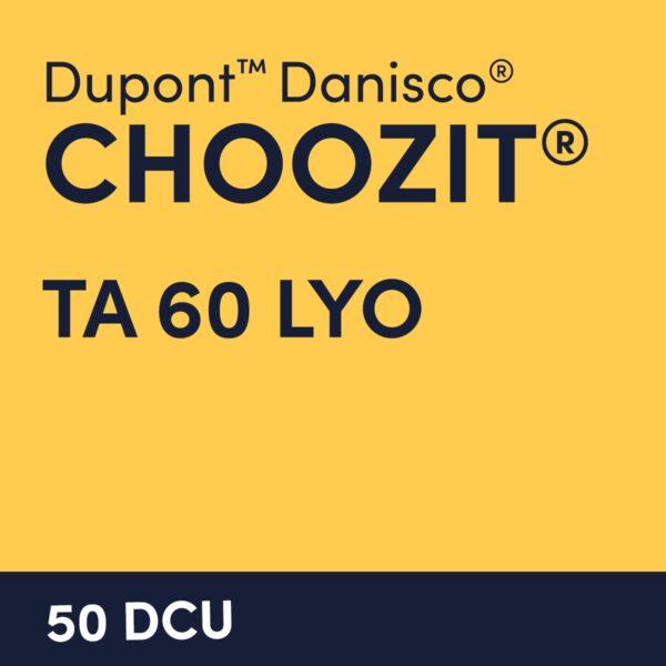 cultures choozit TA 60 LYO 50 DCU