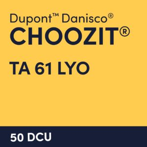 cultures choozit TA 61 LYO 50 DCU
